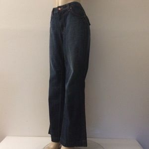 Seven7 Jeans 16 Stretch Wide Leg Mid Rise